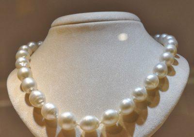 Collana di perle australiane